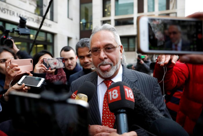 In a series of tweets, Mallya, who intends to appeal against a UK court's extradition verdict. (Reuters File Photo)