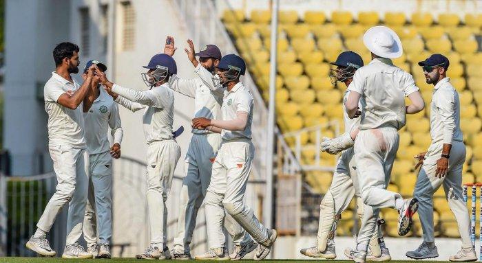 Vidarbha thus joined Mumbai, Maharashtra, Delhi, Karnataka and Rajasthan as teams to have won two or more successive titles previously. (PTI Photo)