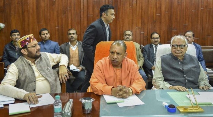 Uttar Pradesh Chief Minister Yogi Adityanath. (PTI File Photo)