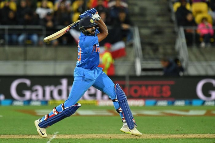 UNDER PRESSURE: Rohit Sharma will be looking to lead from the front when India takes on New Zealand in the second T20I on Friday. AFP