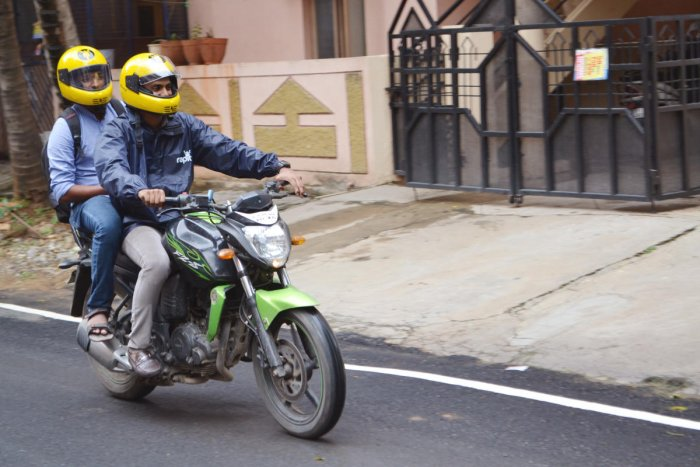 Rapido has been active in Bengaluru since 2016. It works with office-goers and students who take passengers on their bikes.