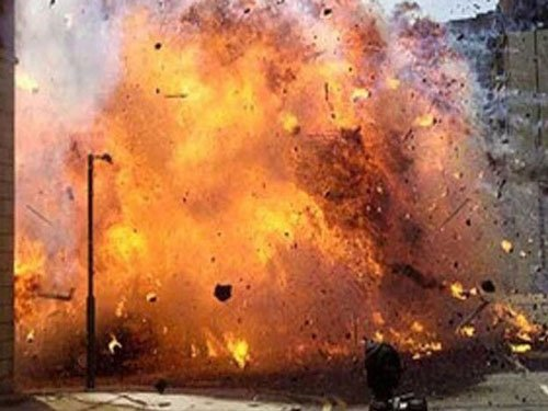 At least four persons, including three personnel of Assam Rifles, have sustained injuries when two powerful bombs exploded in a span of few minutes at a crowded place in the centre of capital town, a senior police officer said. File photo for representation only