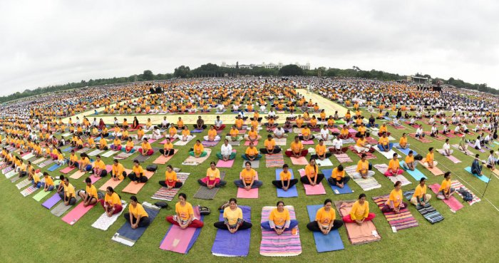 The results of multi-centre clinical trial on cardiac rehabilitation, spread over 50 months, showed that the patients with intense Yoga were less susceptible to cardiac ailments. DH file photo