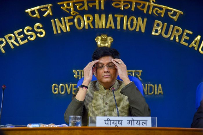 Railway Minister Piyush Goyal was given the additional charge of the Finance and Corporate Affairs ministries on Wednesday in view of the indisposition of Arun Jaitley, who is currently undergoing treatment abroad. (PTI Photo)