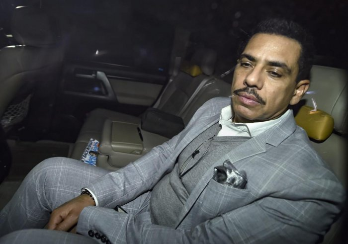 Robert Vadra. (PTI Photo)