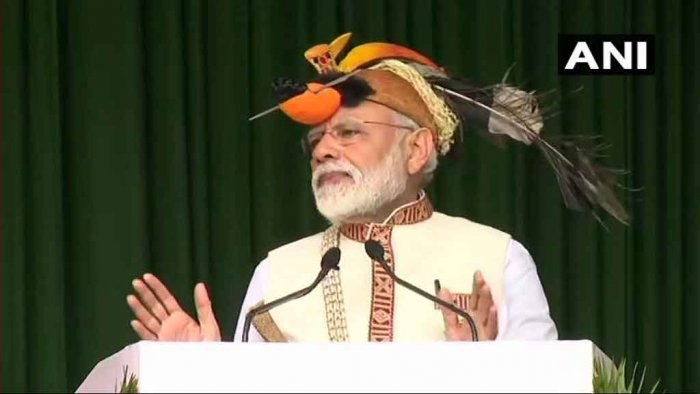 Prime Minister Narendra Modi on Saturday inaugurated several projects and laid the foundation stone of many vital schemes worth over Rs 4,000 crore for Arunachal Pradesh at a function here. ANI