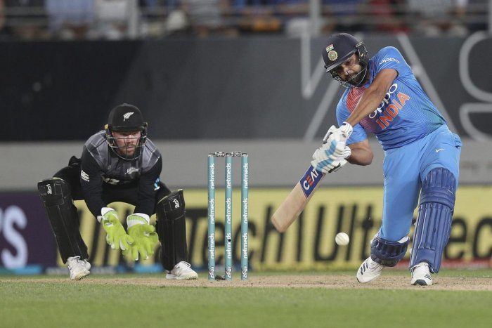 DANGERMAN Indian skipper Rohit Sharma, who slammed a 29-ball 50, will aim for a big knock in the third and final T20I against New Zealand. AP/PTI