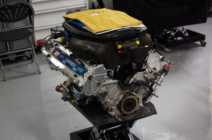 Ford Cosworth F1 engine. Picture credit: www.flickr.com/ John O'Nolan