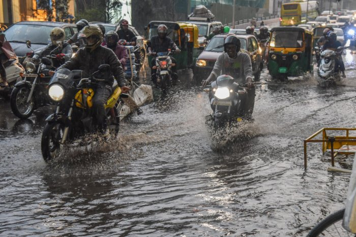 According to the IMD, Bengaluru city recorded 58 mm rainfall till 8.30 pm. It is the highest rainfall in the past 10 years in the month of February in the city.