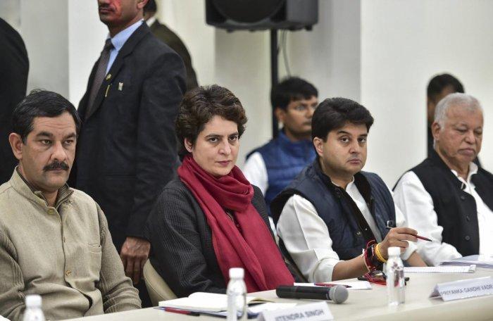 This will be Priyanka Gandhi's maiden visit to Uttar Pradesh after she formally entered politics last month. (PTI Photo)
