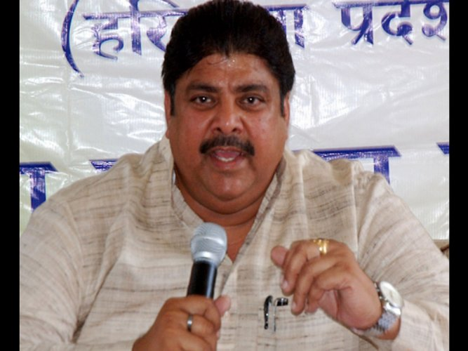 The new kid on the block, the Janata Jannayak Party (JJP), a rebel faction formed out of the split in the INLD by former jailed MP and Chautala's estranged son Ajay Chautala, may turn out to be an underdog. Picture courtesy Twitter