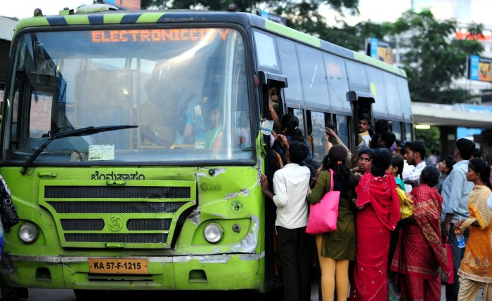 TRAVEL WOES: Activists have urged the government to extend financial assistance to reimburse losses rather thantransfer the burden to passengers. DH FILE PHOTO