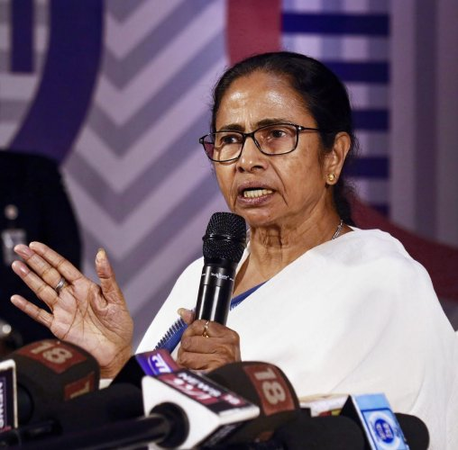 West Bengal Chief Minister Mamata Banerjee on Monday extended support to her Andhra Pradesh counterpart N Chandrababu Naidu over his day-long hunger strike in New Delhi. PTI file photo
