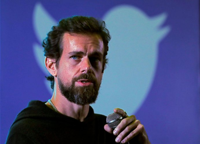 Jack Dorsey, Twitter CEO. (Reuters File Photo)