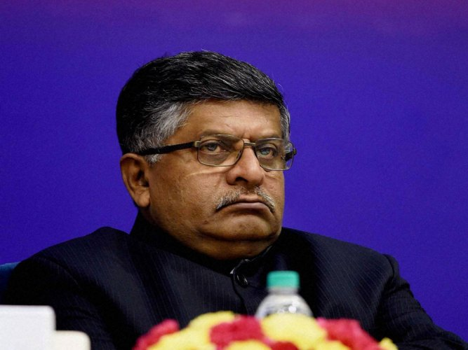 A delegations of lawyers led by BCI chairman Manan Kumar Mishra also met Law Minister Ravi Shankar Prasad with their demands on Tuesday afternoon. PTI file photo.