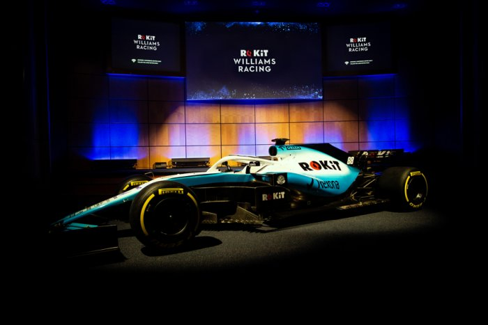 The Williams FW42 car. Picture credit: Williams Racing