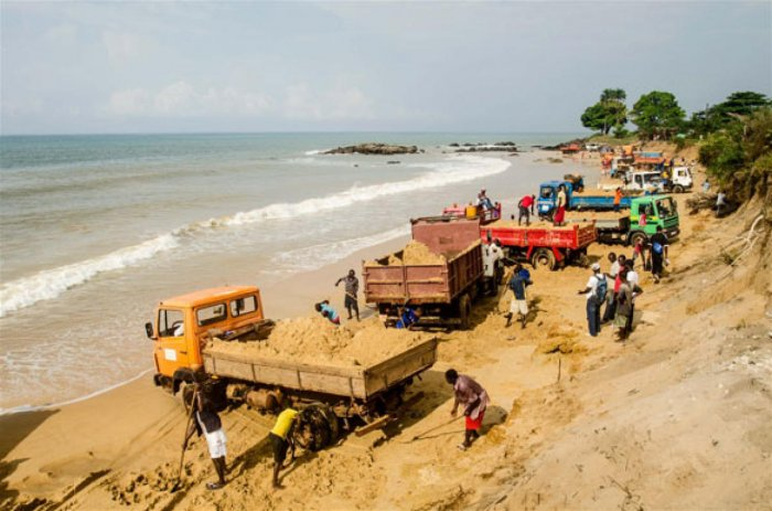 Sand and equipment worth Rs 5 lakh and two boats were seized. (File Photo for representation)