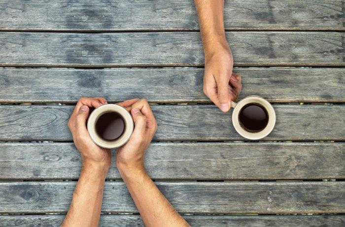 An espresso drinker is a born leader.
