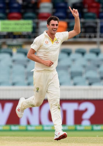 BEACON OF HOPE: Pat Cummins has enhanced his reputation during a tough period for Australian cricket. AFP File Photo