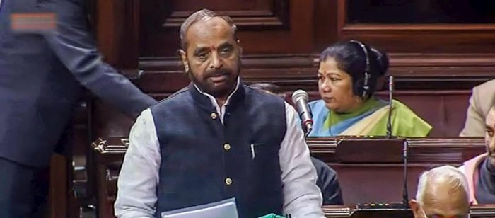 Union Minister of State for Home Hansraj Ahir.