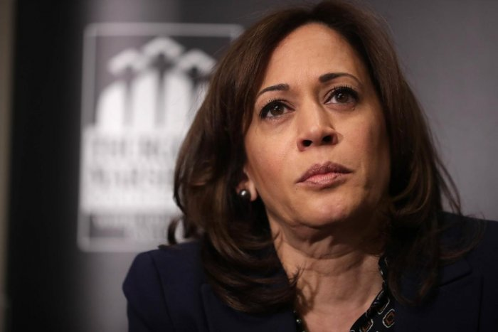 Democratic presidential candidate Sen. Kamala Harris. (AFP File Photo)