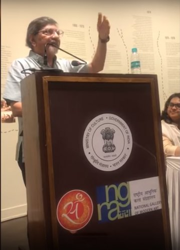 Amol Palekar says he was hurt and shocked at how he was treated at this art gallery event in Mumbai.