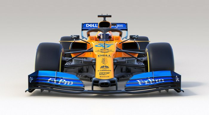 McLaren's 2019 challenger, the MCL34. Picture credit: McLaren Racing
