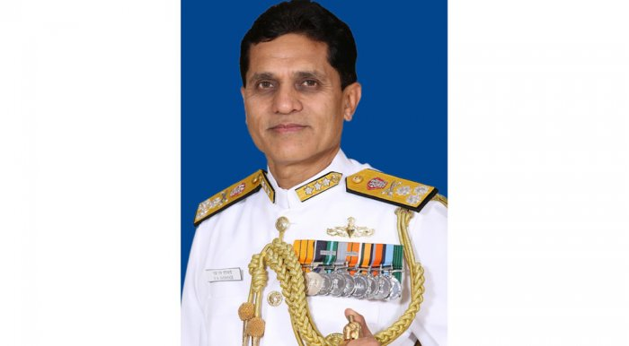 Vice Admiral SN Ghormade.
