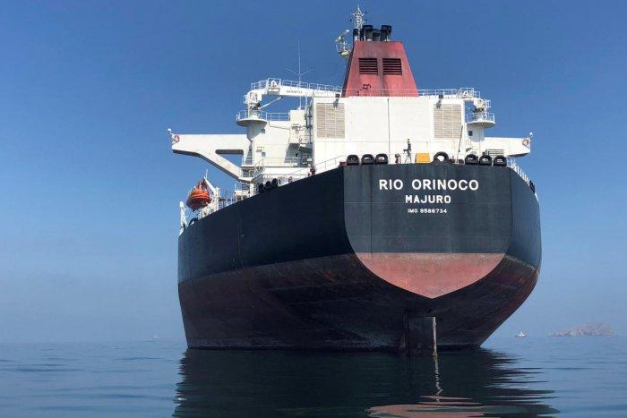 An oil tanker is seen at sea outside the Puerto La Cruz oil refinery in Puerto La Cruz, Venezuela July 19, 2018. (REUTERS File Photo)