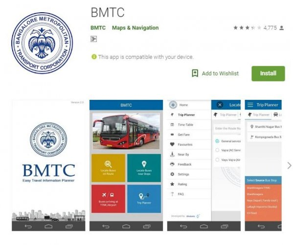 BMTC app