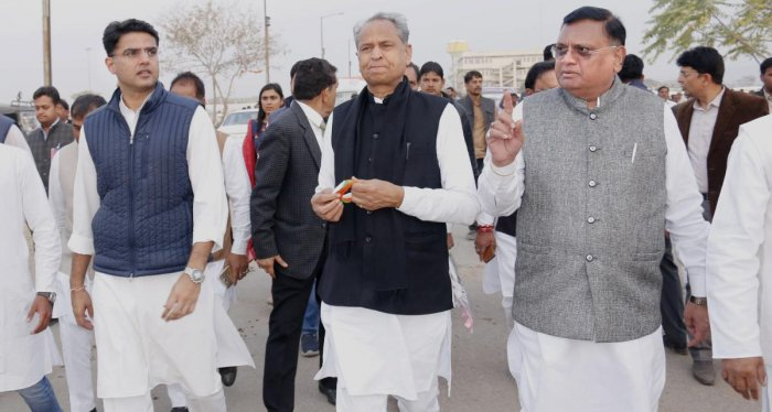 """Rajasthan Education Minister Govind Singh Dotasra termed the order of the previous government to celebrate 'Matra Pitra Diwas' in schools as """"drama""""."""