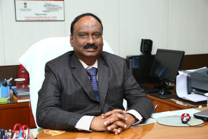 ITI Chairman and Managing Director K Alagesan