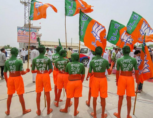 The plea said that the party has been repeatedly and continuously has been using public funds, public place and government machinery for advertising the party and to propagate its election symbol in different ways. (PTI File Photo)
