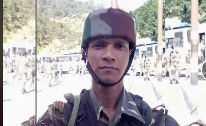 Santra is survived by his wife, a four-year-old daughter and mother, the martyred jawan's nephew Raghubir Mondal said Friday after receiving the news of his death from CRPF authorities by phone. Screengrab