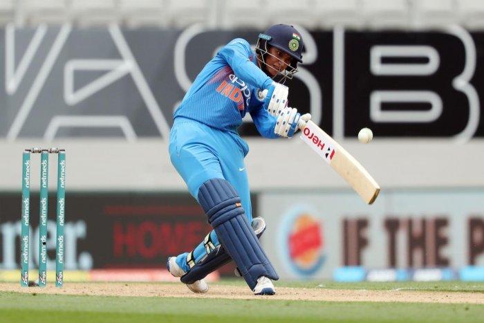 Indian opener Smriti Mandhana has been in terrific form. AFP File Photo