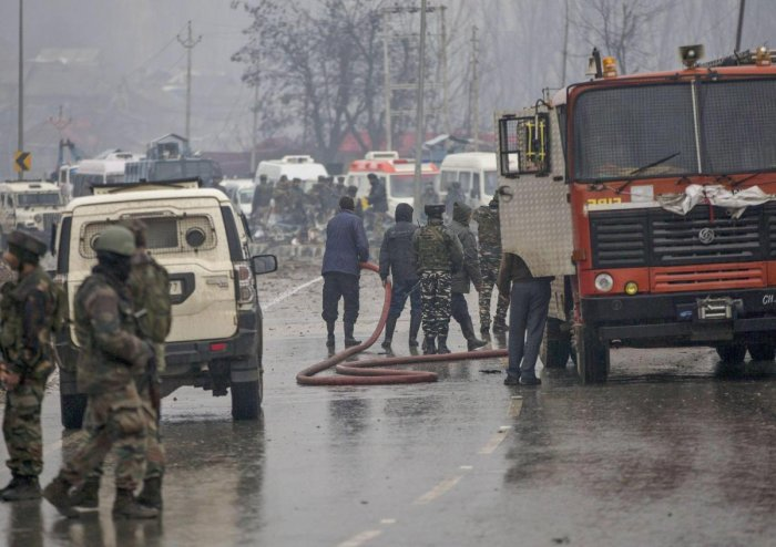 Most of India's neighbours in South Asia – Bangladesh, Bhutan, Maldives, Nepal, Sri Lanka and Afghanistan – too condemned the terror attack, which killed at least 40 Central Reserve Police Force personnel. PTI file photo.