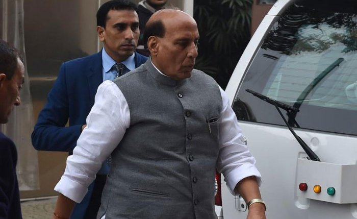 Singh, who cancelled his Friday's engagements in Bihar's Patna, spoke to Jammu and Kashmir Governor Satyapal Malik and CRPF Director General Rajiv Rai Bhatnagar, who also rushed back from Prayagraj to the capital. Home Secretary Rajiv Gauba, who is in Bhutan, will also be flying back to Delhi. PTI file photo.