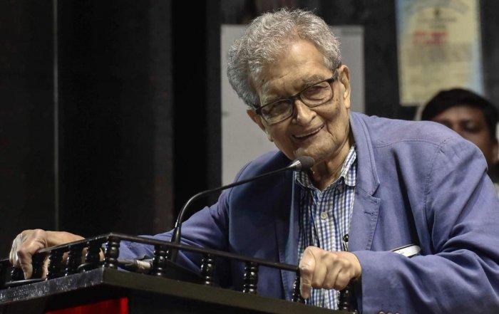 Nobel laureate and economist Amartya Sen. (PTI File Photo)