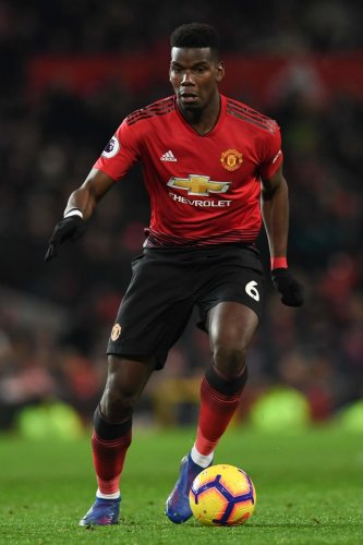 HERE I COME!: Having rediscovered his attacking touch, play-maker Paul Pogba will be looking to inspire Manchester United when they host PSG in the first leg last-16 clash on Tuesday. AFP