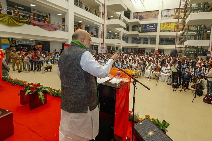 According to the decision taken by BJP chief Amit Shah, party workers will hold condolence meets in all district headquarters and condemn the heinous attack, besides taking a vow to decisively fight terror. (PTI File Photo)