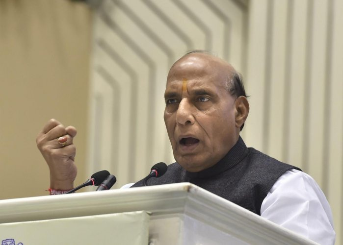 The Home Minister claimed that the neighbouring country backed the attack after finding out that the terrorists have become frustrated in the wake of the successful operations by the Indian forces in the past five years. (PTI File Photo)