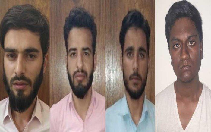 Haris Manzoor, Zakir Maqbool, Gowhar Mushtaq and Faiz Rasheed