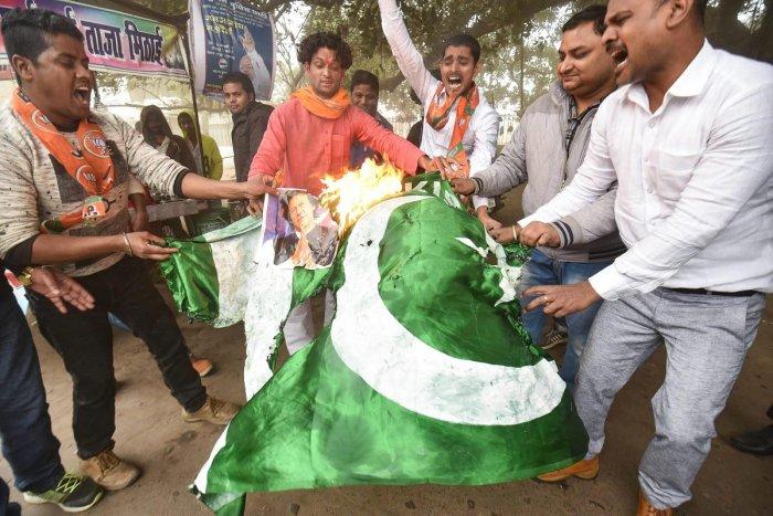 BJP Protest in Patna (PTI File Photo)