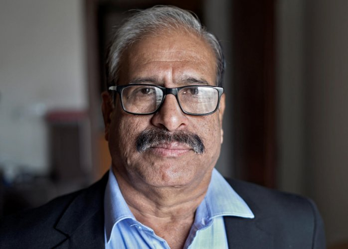 P.C. Mohanan, former acting chairman of National Statistical Commission (NSC), poses after his interview with Reuters at in New Delhi, India, February 2, 2019. Picture taken February 2, 2019. REUTERS/Devjyot Ghoshal