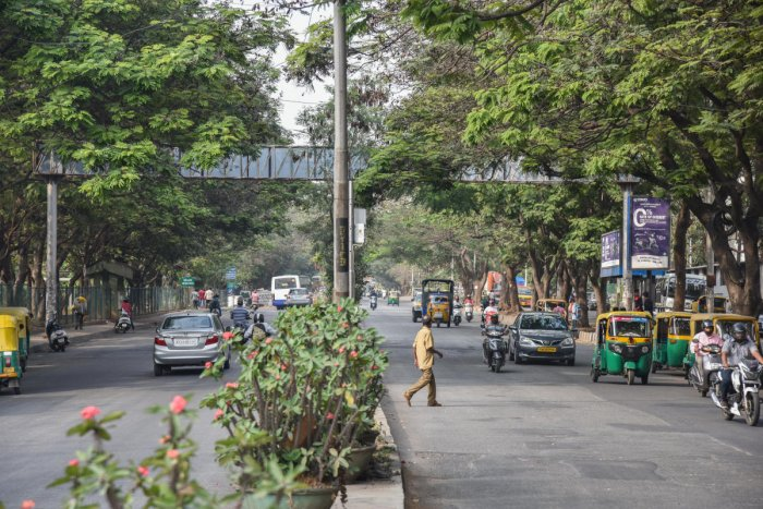 COMING UP: Another flyover on West Chord of Road will come at the Rajajinagar Industrial Town.