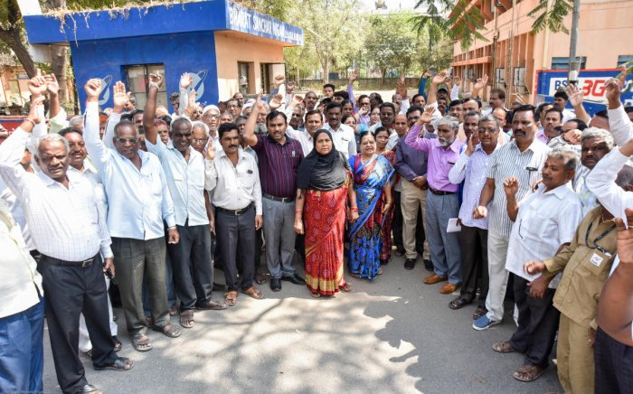 The union levelled charges a day after the telecom department announced that it was engaging with the BSNL management and representatives of the unions and associations to support their reasonable demands.