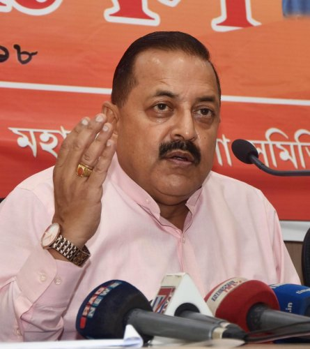 Union Minister Department of Personnel & Training Jitendra Singh. (PTI Photo)