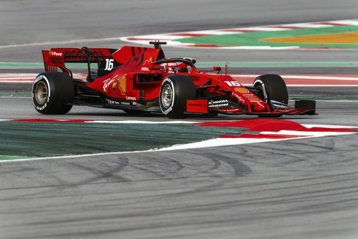 Charles Leclerc in action. Picture credit: Scuderia Ferrari