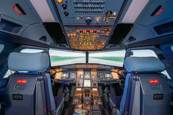 The A320 simulator by Airbus