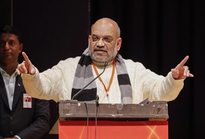 BJP President Amit Shah. PTI file photo